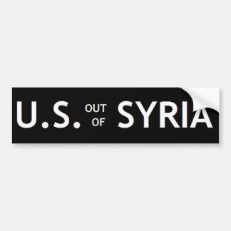 シリアのバンパーステッカーからの米国 バンパーステッカー