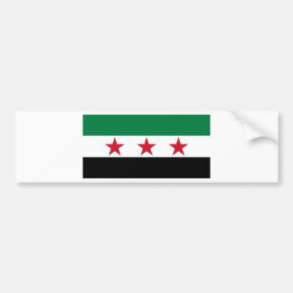 シリアの反対 バンパーステッカー