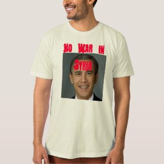 シリアの戦争無し Tシャツ