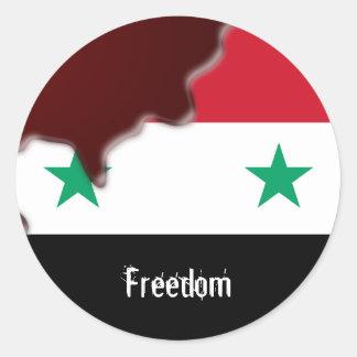 シリアの改革のアラビアの春私達はすべてです。 ラウンドシール