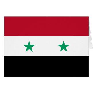 シリアの旗 カード