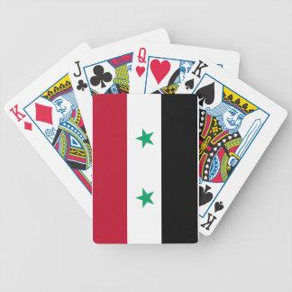 シリアの旗 バイスクルトランプ