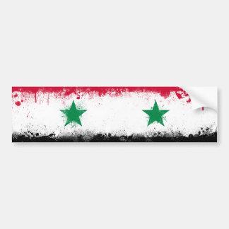 シリアの旗 バンパーステッカー