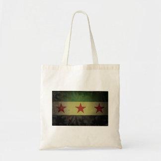 シリアの汚い旗 トートバッグ