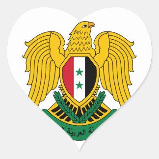 シリアの紋章付き外衣 ハートシール