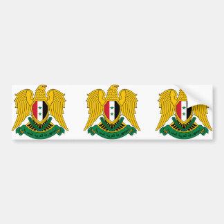 シリアの紋章付き外衣 バンパーステッカー