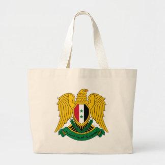 シリアの紋章付き外衣 ラージトートバッグ