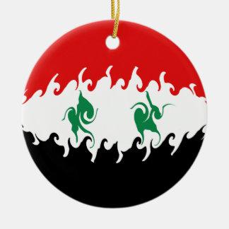 シリア|すごい|旗 クリスマスツリーオーナメント