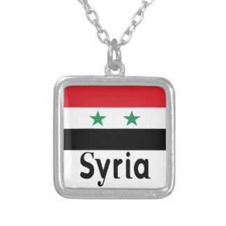 シリア シルバープレートネックレス