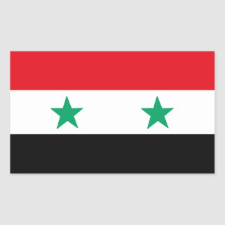 シリア 長方形シール