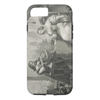 シリーズからのスウェーデンのクリスティーナの(1626-89年の)女王、 iPhone 8/7ケース