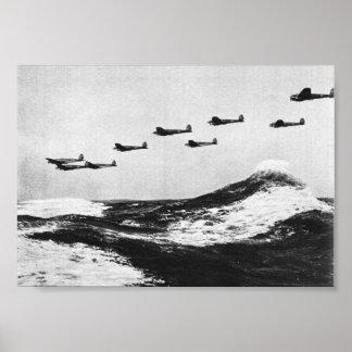 シリーズ- Heinkel He111 #2ブリテンの戦い ポスター