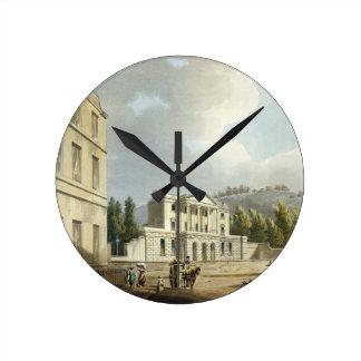 「シリーズo図解入りの、写真付きのなBathからのシドニーのホテル、 ラウンド壁時計