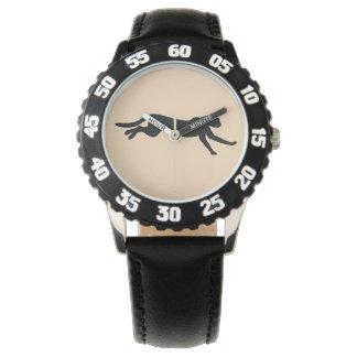 シルエットのチータ 腕時計
