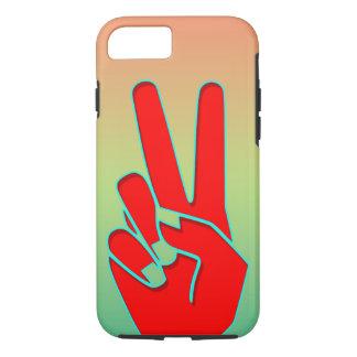 シルエットの手ぶり iPhone 7ケース