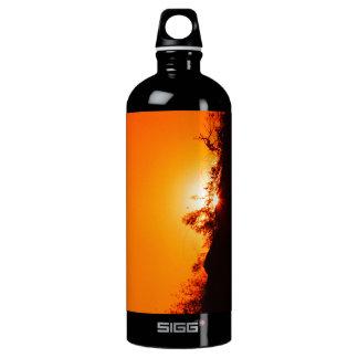 シルエットの日没#2 ウォーターボトル