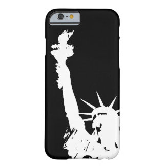 シルエットのiPhone6ケース自由の女神 Barely There iPhone 6 ケース