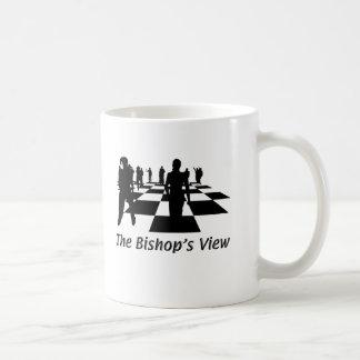 シルエット-チェス-司教の意見 コーヒーマグカップ