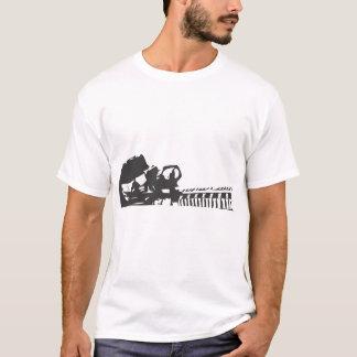 シルエットSolider Tシャツ