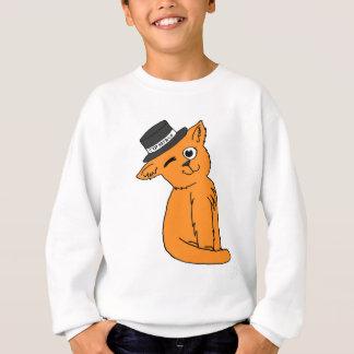 シルクハット猫及びCo 2.0 スウェットシャツ