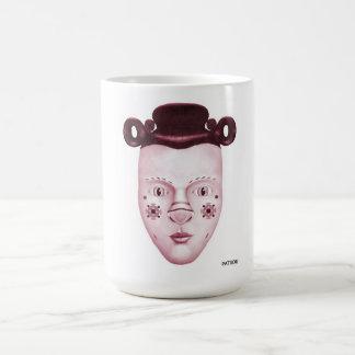 シルビーのピンク コーヒーマグカップ