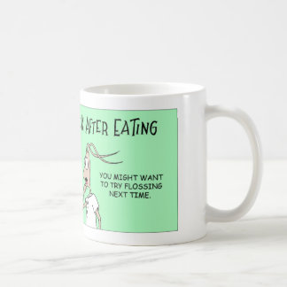 シロアリおよびつまようじ コーヒーマグカップ