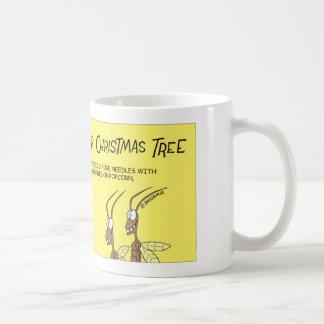 シロアリの風味のクリスマス コーヒーマグカップ
