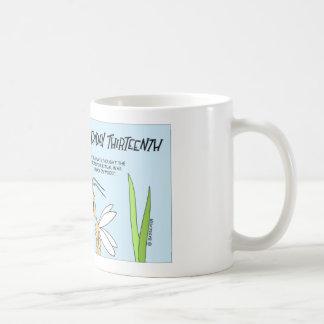 シロアリは金曜日に第13をしくじります コーヒーマグカップ