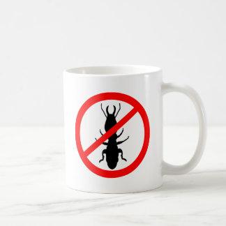 シロアリを用心して下さい コーヒーマグカップ