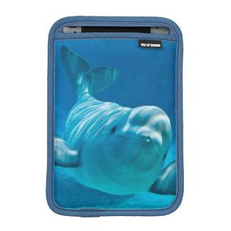 シロイルカのクジラ iPad MINIスリーブ