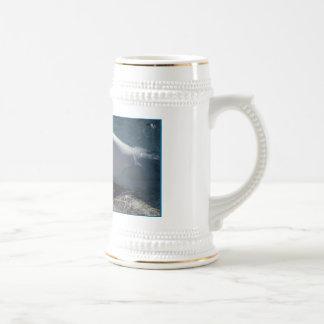 シロイルカのクジラStien ビールジョッキ