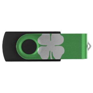 シロツメクサの葉USBのフラッシュドライブ USBフラッシュドライブ