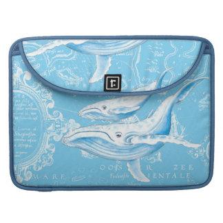 シロナガスクジラ家族 MacBook PROスリーブ