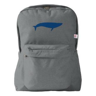 シロナガスクジラ AMERICAN APPAREL™バックパック