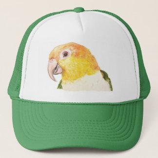 シロハラインコの帽子 キャップ