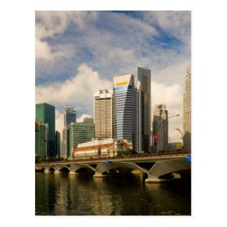 シンガポールのスカイライン ポストカード