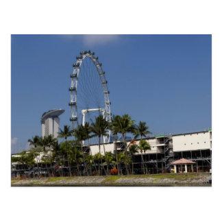 シンガポールのフライヤ ポストカード