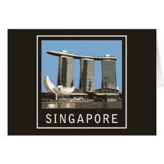 シンガポールのマリーナ湾の砂 カード