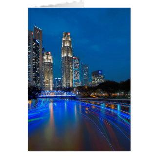 シンガポールの川の巡航 カード