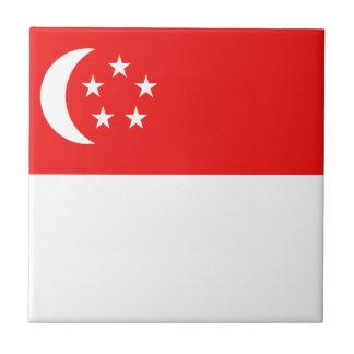 シンガポールの旗のセラミックタイル タイル