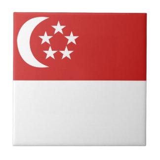 シンガポールの旗 タイル