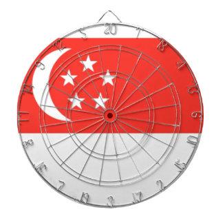 シンガポールの旗 ダーツボード