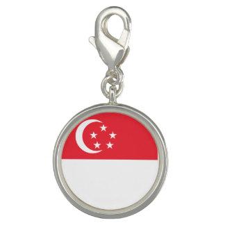 シンガポールの旗 チャーム