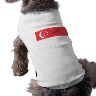 シンガポールの旗 ペット服