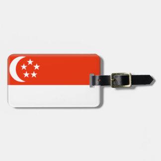 シンガポールの旗 ラゲッジタグ