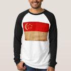 シンガポールの旗 Tシャツ