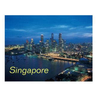シンガポールの郵便はがき ポストカード