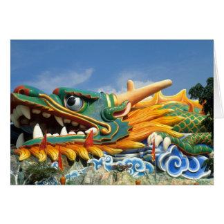 シンガポールアジアのサンザシの標準の別荘の有名なドラゴン カード