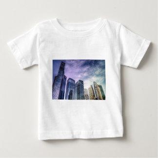 シンガポール都市 ベビーTシャツ