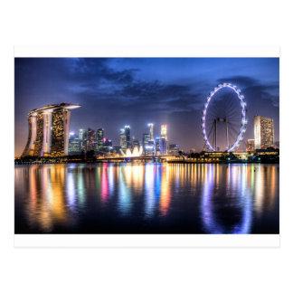 シンガポール! ポストカード